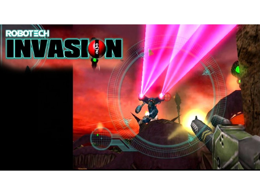 PS2 Robotech Invasion