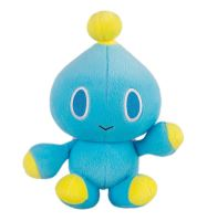 Plyšová hračka Sonnic 25th Anniversary - Blue Chao (nová)