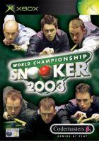 Xbox World Championship Snooker 2003