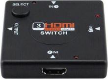 HDMI SWITCH, prepínač, rozbočovač 3 v 1 (nový)