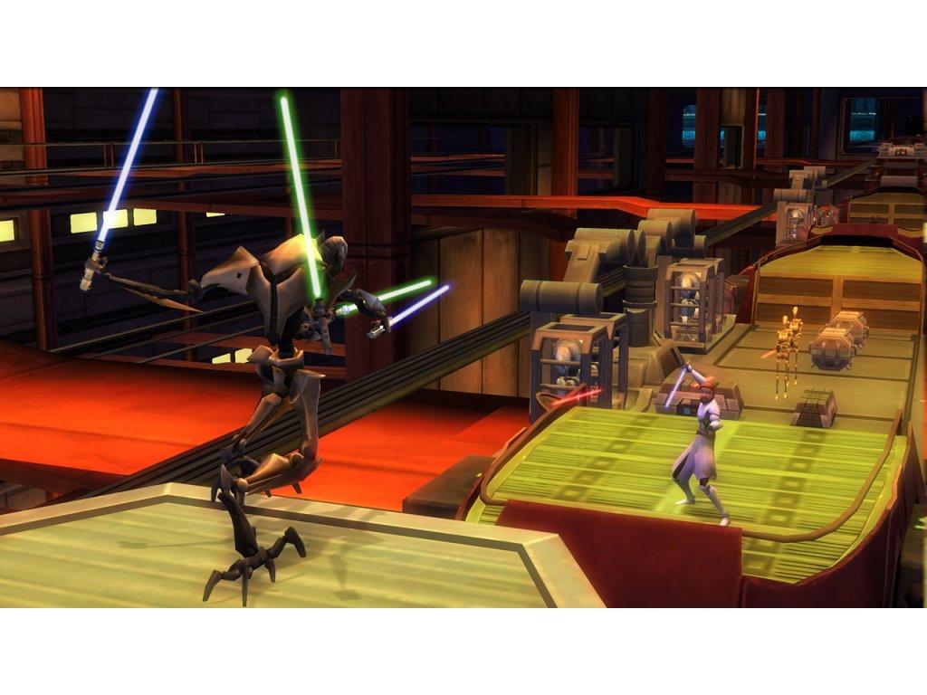 Nintendo Wii Star Wars The Clone Wars: Lightsaber Duels