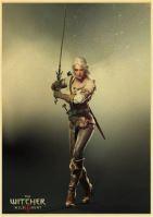 Plakát Witcher 3 (b) (nový)