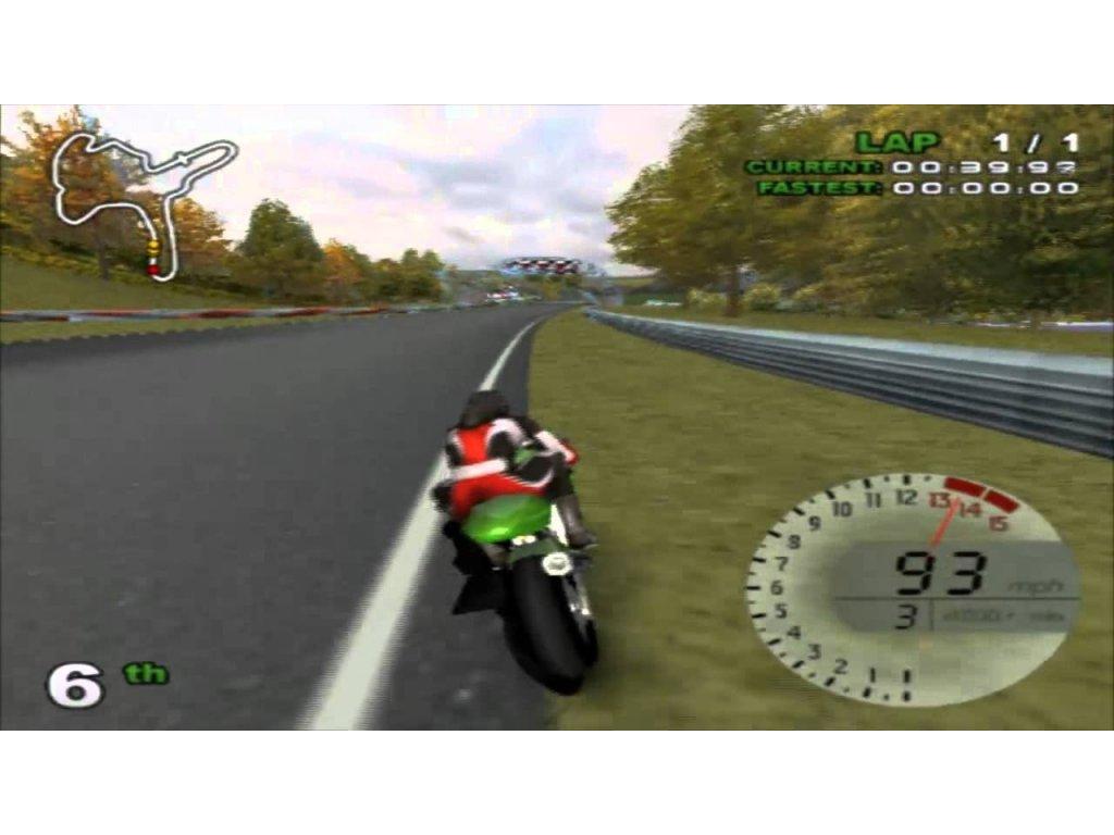 PS2 Hawk Kawasaki Racing