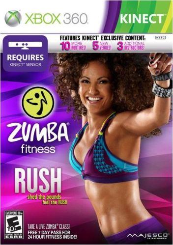 Xbox 360 Zumba Fitness Rush
