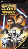 PSP Star Wars The Clone Wars: Republic Heroes (DE)