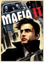 Plakát Mafia 2 Mafia II Vito Scaletta, retro styl (nový)