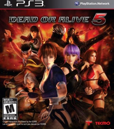 PS3 Dead Or Alive 5