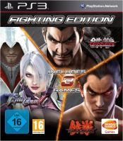 PS3 Fighting Edition - Tekken Tag Tournament 2, Tekken 6, SoulCalibur 5
