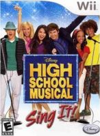 Nintendo Wii Disney Sing It: High School Musical