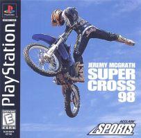 PSX PS1 Jeremy McGrath Supercross 98
