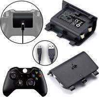 [Xbox One] Akumulátor 2400 + USB nabíjecí sada (nové)