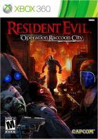 Xbox 360 Resident Evil Operation Raccoon City