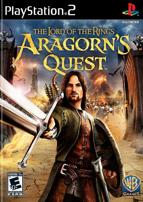 PS2 Pán Prsteňov The Lord Of The Rings Aragorn's Quest