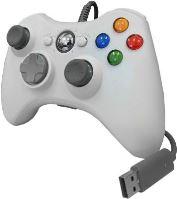 [Xbox 360] Drôtový Ovládač - biely (nový)