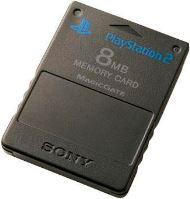 [PS2] Originálne pamäťová karta Sony 8MB (čierna)