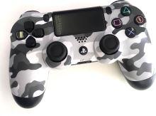 [PS4] Dualshock Sony Ovládač - Urban Camo - šedý maskáč (estetické vady)