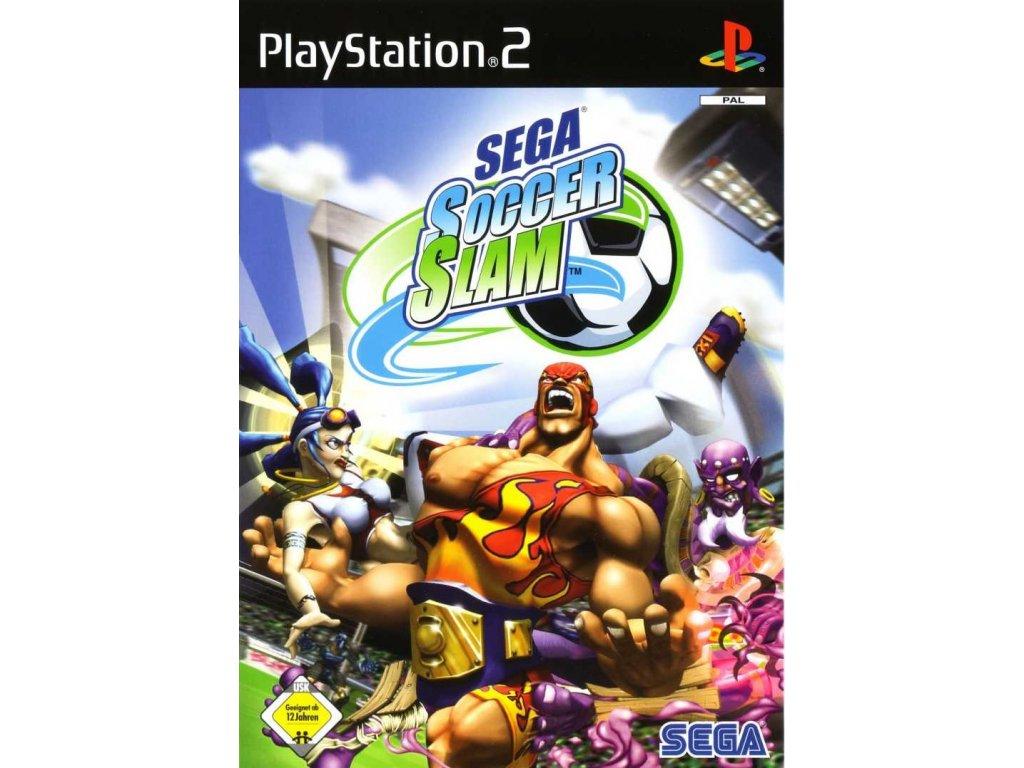 PS2 Sega Soccer Slam