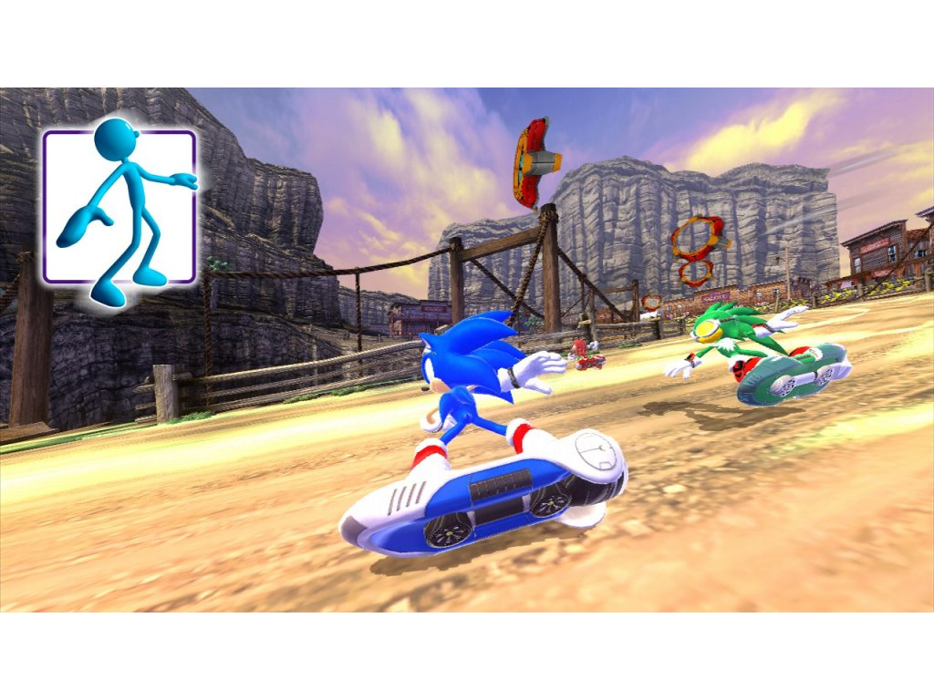 Xbox 360 Kinect Sonic Free Riders