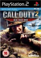PS2 Call Of Duty 2 Big Red One (DE)