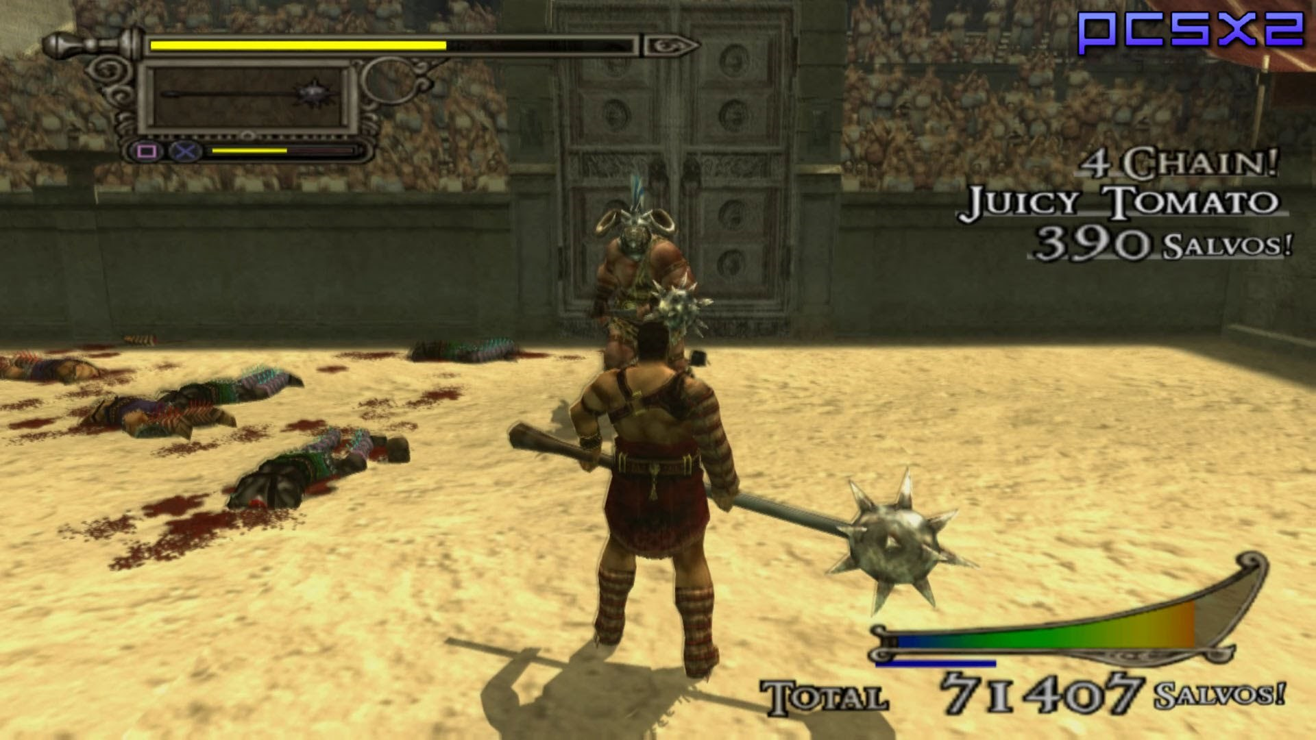 PS2 Shadow Of Rome