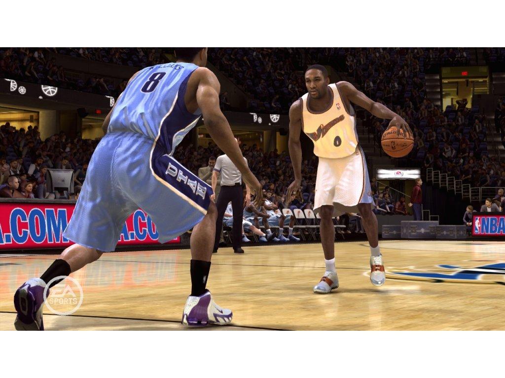 PS2 NBA Live 08 2008