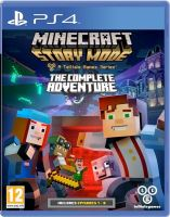 PS4 Minecraft Story Mode The Complete Adventure