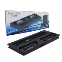 [PS4] Multifunkčný chladiaci stojan s nabíjačkou PS4 SLIM (nový)