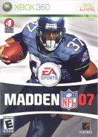 Xbox 360 Madden NFL 07 2007