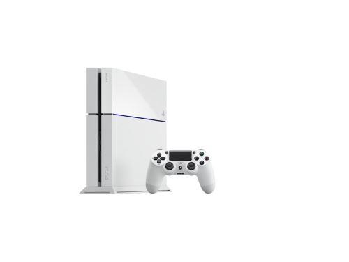 PlayStation 4 500 GB - Biela edícia