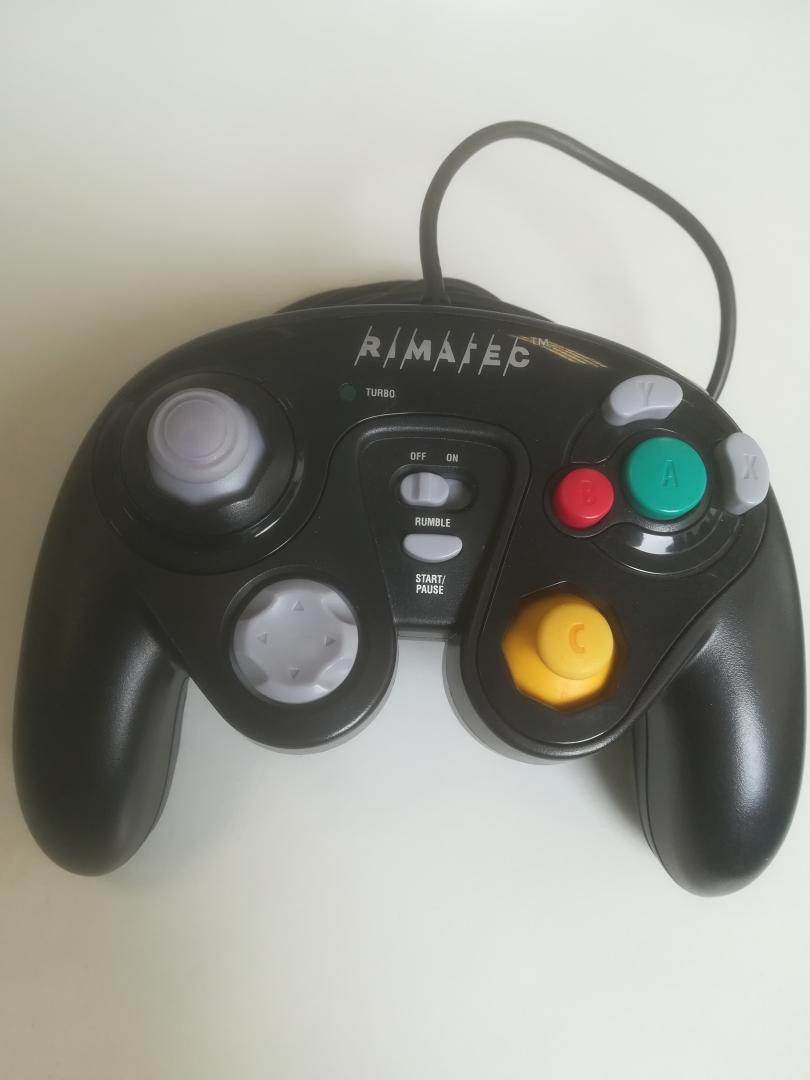[Nintendo GameCube] Rimatec ovládač - čierny