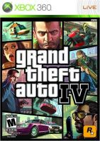 Xbox 360 GTA 4 Grand Theft Auto IV