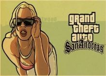 Plagát Grand Theft Auto San Andreas (a) (nový)