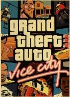 Plagát Grand Theft Auto Vice City (nový)