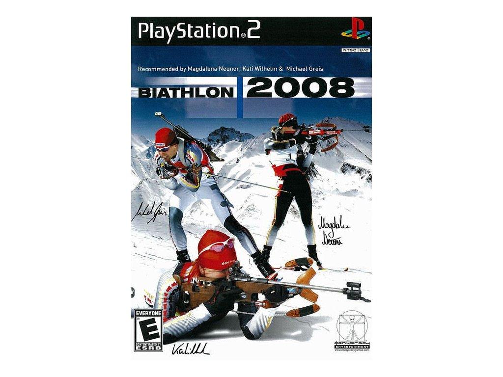 PS2 RTL Biathlon 2008
