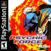 PSX PS1 Psychic Force