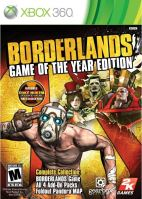 Xbox 360 Borderlands - Game of the Year Edition