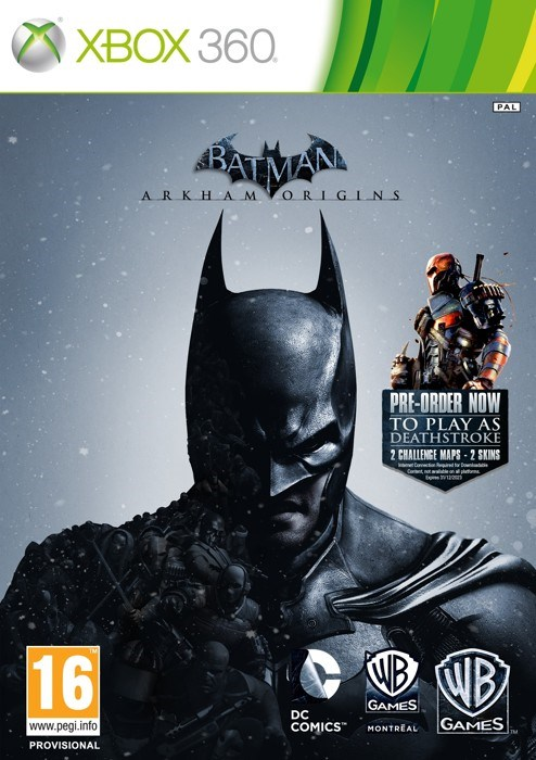 Xbox 360 Batman Arkham Origins