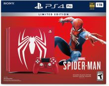 PlayStation 4 PRO 1TB - Spider-Man Limited Edition