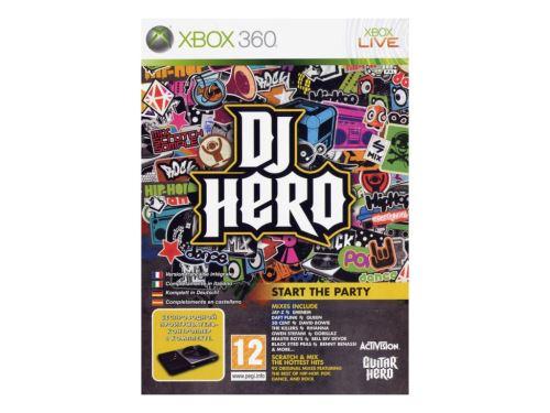 Xbox 360 DJ Hero (iba hra)