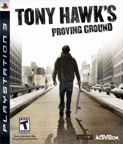 PS3 Tony Hawks Proving Ground