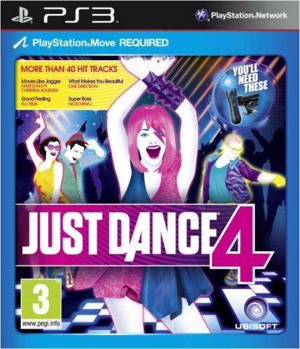PS3 Just Dance 4