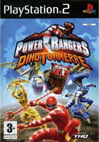 PS2 Power Rangers Dino Thunder