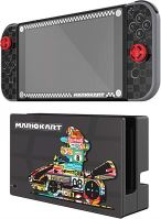 [Nintendo Switch] Ochranné fólie a polepy Mario Kart (nové)