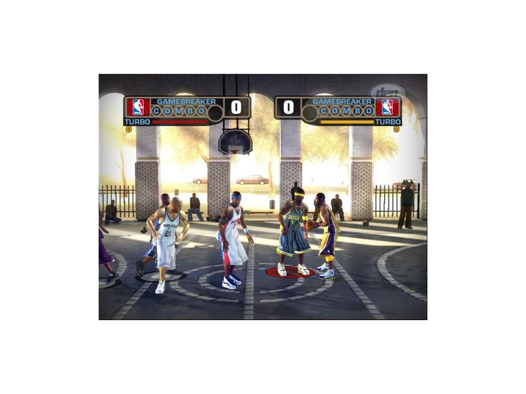 PS2 NBA Street V3