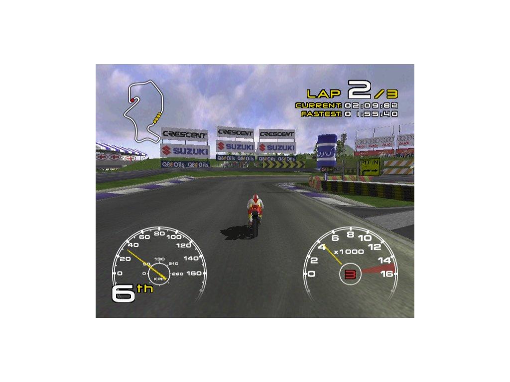 PS2 Crescent Suzuki Rancing