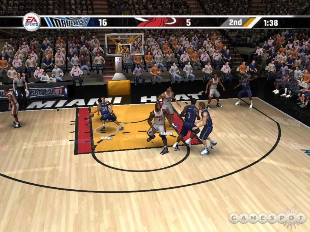 Xbox 360 NBA Live 07 2007