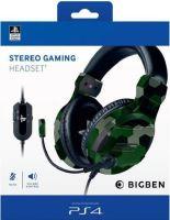 [PS4] Stereo Gaming Headset - maskáč (nový)