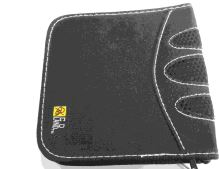 Puzdro na CD / DVD - 16ks, čierne (estetická vada)