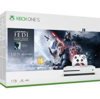 Xbox One S 1TB (Plná verzia s DVD mechanikou) + Star Wars Jedi Fallen Order (nové)