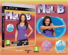 PS3 Get Fit With Mel B + posilovací guma (nová)